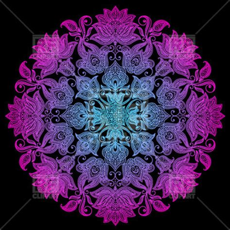 mendi style background indian tracery royalty free ethnic indian round floral ornament colorful mendi style