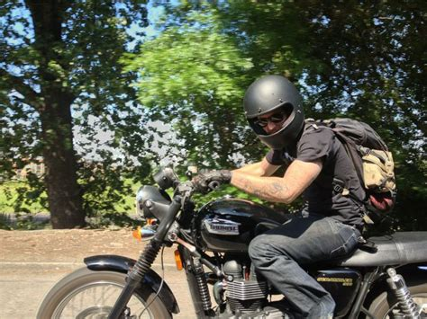 Yamaha Helm Sport Classic Nick From Headsnortails In His Biltwell