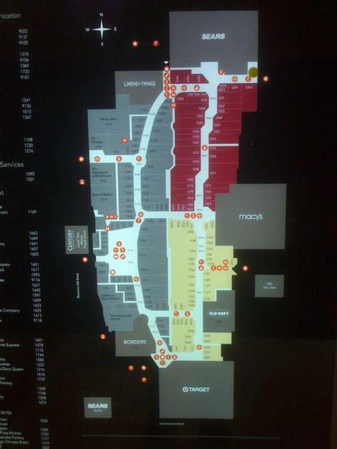 oakridge mall san jose map of stores westfield mall san jose store hours