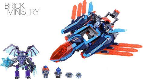 Lego Nexo Knights 70351 Clays Falcon Fighter Blaster lego 70351 nexo knights clay s falcon fighter blaster