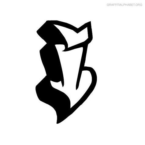 graffiti letters a z graffiti letter i letter template 1263