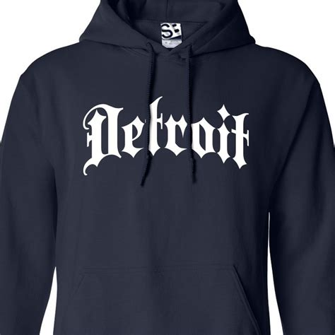 Hoodie Detroit 2 detroit thug hoodie