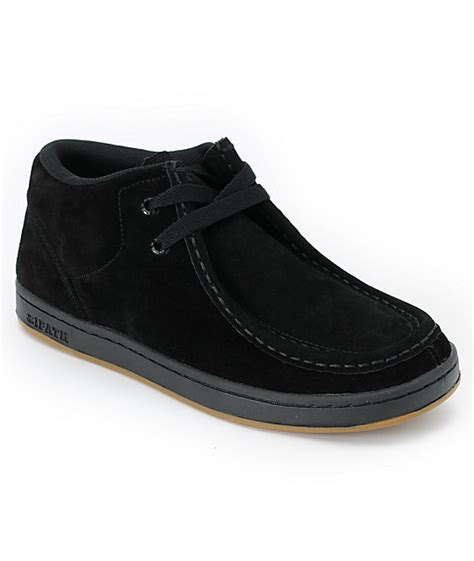 ipath cat black suede shoe at zumiez pdp
