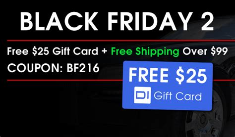 Black Friday Free Gift Cards - black friday 2 free 25 gift card the detailed image blog