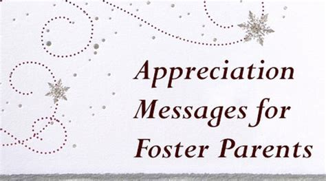 appreciation letter to foster parents parent appreciation phrases just b cause