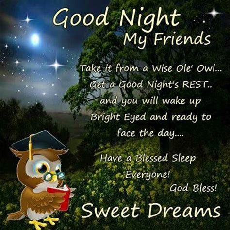 goodnight my friends god bless pictures, photos, and