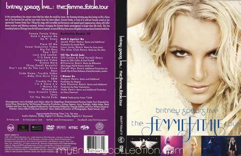 Dvd Live The Femme Fatale Tour