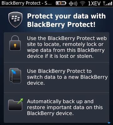 reset blackberry password without losing data blackberry protect getting started guide inside