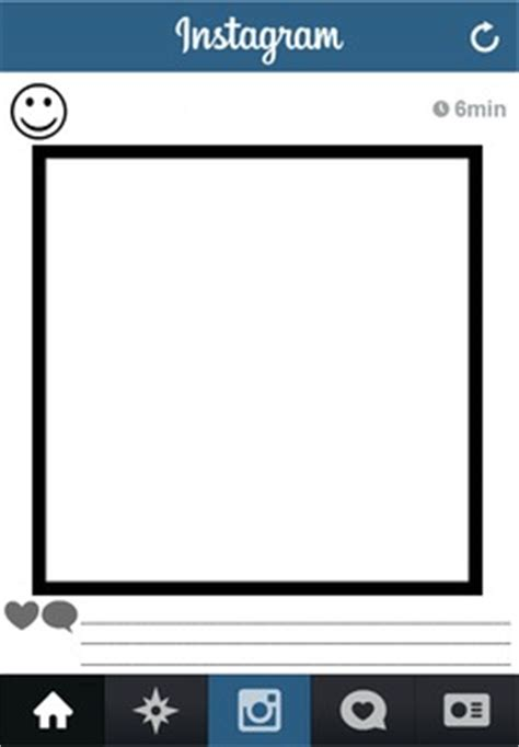 Blank Instagram Template Worksheet By Leijsa Chiasson Tpt Instagram Template For Students
