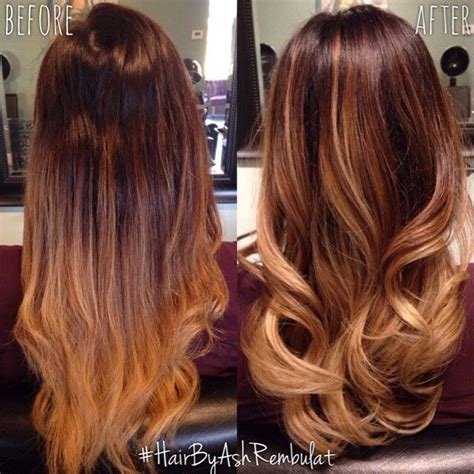 balayage hair color vs ombre balayage vs ombre search