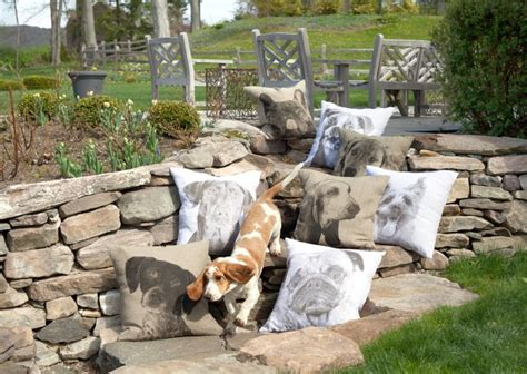 dog themed home decor dog themed decorative pillows from eric christopher