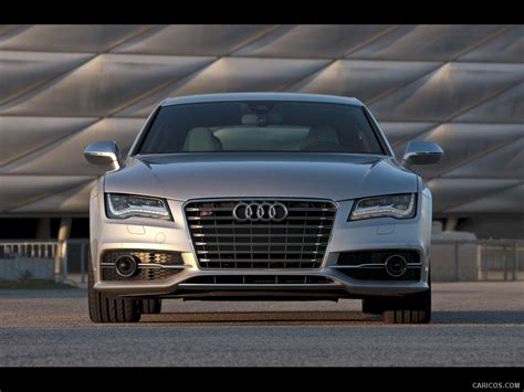 audi s7 us version 2013 prism silver front hd