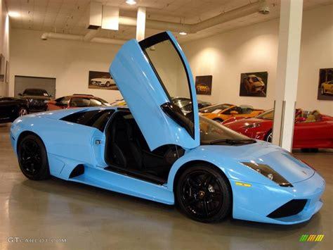 Lamborghini Blue Color Code 2008 Celeste Cepheus Sky Blue Lamborghini Murcielago