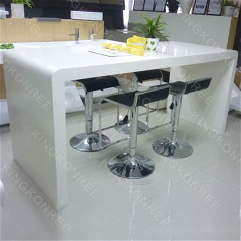 Acrylic Bar Table White Acrylic Solids Urface Bar Table Top Dining Table Buy Bar Table Bar Table Top