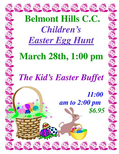 best photos of easter egg hunt flyer easter egg hunt