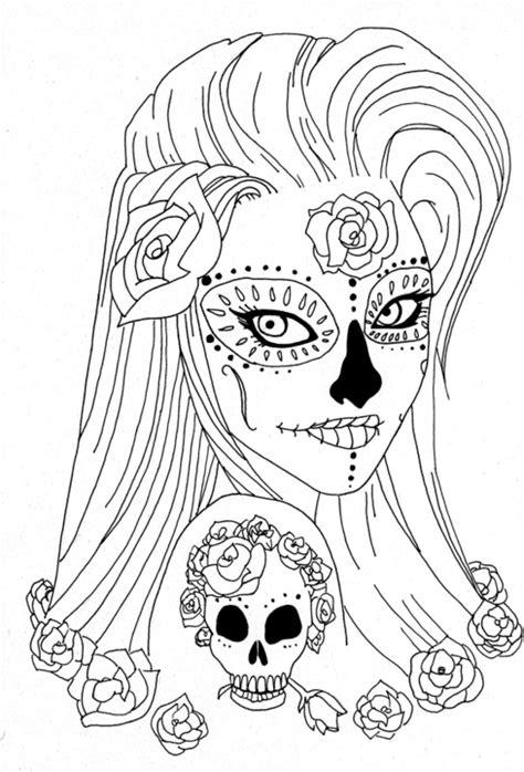 coloring pages halloween skulls sugar skull coloring pages coloring pages for adults