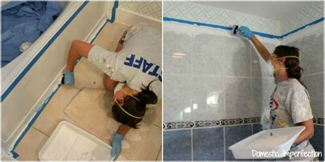 can i paint my bathtub how to refinish outdated tile yes i painted my shower