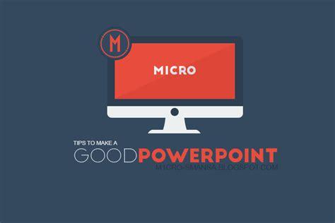 Power Lifier Yang Bagus tips membuat powerpoint yang bagus m1cro