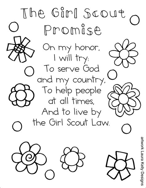 Blog Scout And Promise Coloring Pages