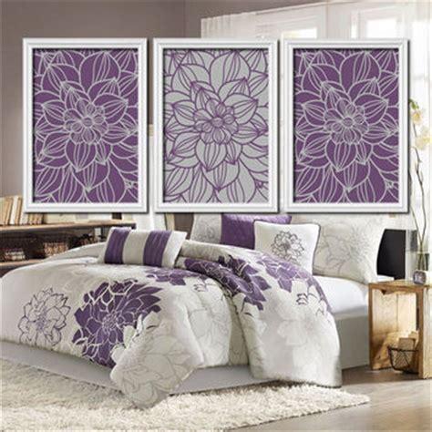 purple and gray home decor purple gray bedroom wall art bathroom from trm design