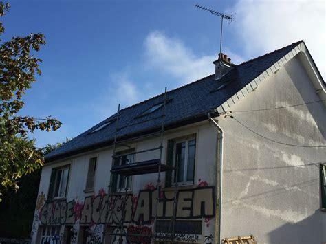 Toiture Tuile Ou Ardoise by R 233 Novation Ardoise Naturelle Couvreur Rennes Tuile