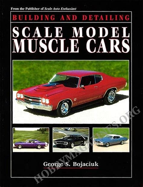 building  detailing scale model muscle cars hobby