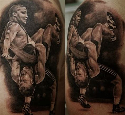 wrestling tattoos designs 35 mind blowing realistic designs creative nerds