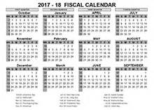 2017 fiscal year calendar template printable free templates