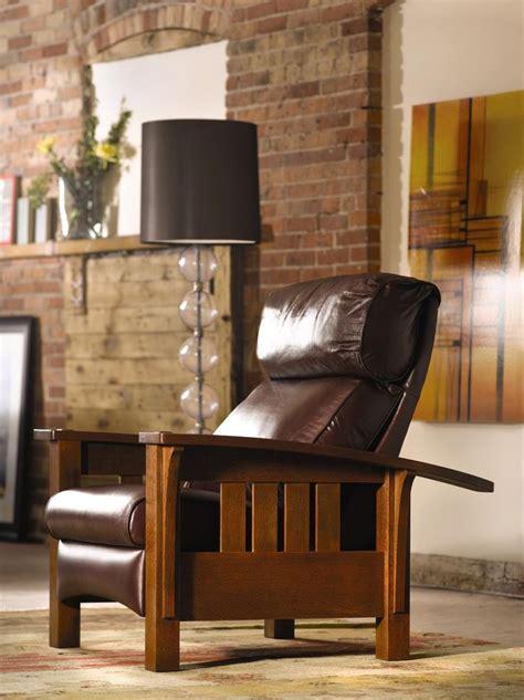 stickley morris chair recliner stickley bustle back bow arm morris recliner stickley
