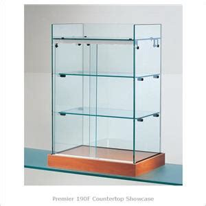Countertop Showcase by Premier 190f Countertop Showcase Desktop Glass Display