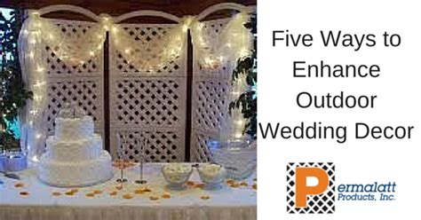 5 Ways To Be Trashy In Your Wedding Dress by Five Ways To Enhance Outdoor Wedding D 233 Cor