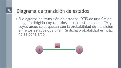 diagrama de transicion cadenas de markov ppt cadenas de markov powerpoint presentation id 1993799