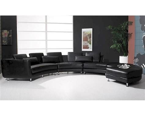 sectional sofa contemporary leather sectional sofa ottoman in contemporary style 44l6043