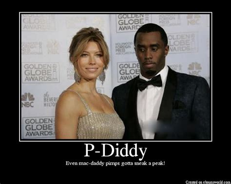 P Diddy Sneaks A Peak At Biels Rack by P Diddy Picture Ebaum S World
