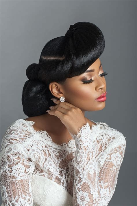 vintage hairstyles afro hair bridal beauty inspiration from retro to afro photo
