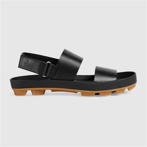 gucci sandals mens leather sandal gucci s sandals slides 428582arp001000