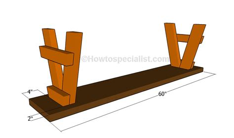 how to put legs on a bench how to build a bench seat howtospecialist how to build