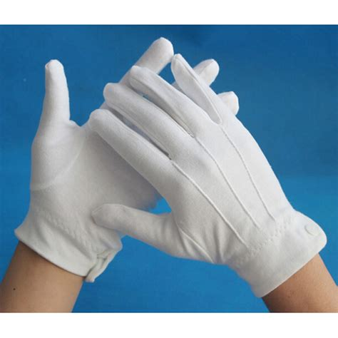 2 Pair Mittens S 2 pair white formal gloves honor color tactical gloves tuxedo honor guard parade santa