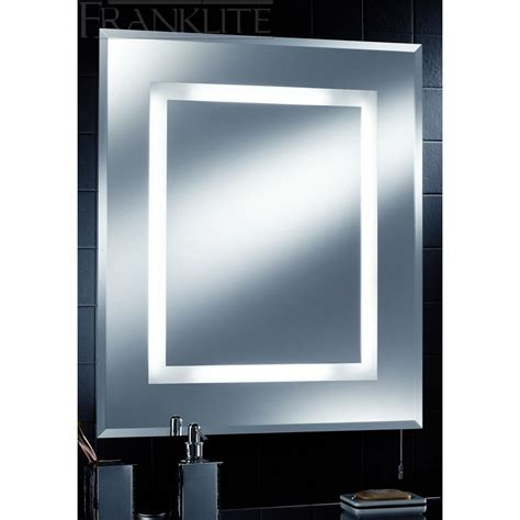 Bathroom Mirrors With Lights Uk Bathroom Illuminated Mirror Ip44