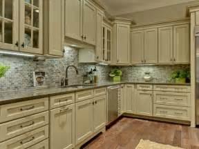 kitchen sage green kitchen cabinets teak wood tile