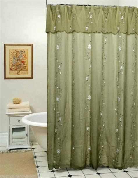 moss green shower curtain curtain extraordinary wooden curtain rings curtain clips