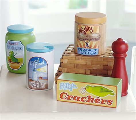 Pantry Set by Wooden Pantry Set Pottery Barn