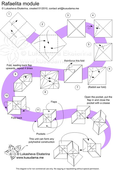 printable kusudama instructions diagram for rafaelita 90 kusudama wedding pinterest