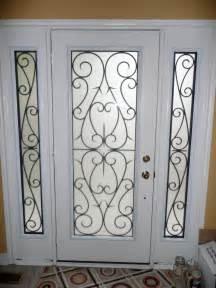 wrought iron glass doors wrought iron glass door inserts yorkhomeimprovementsupplies