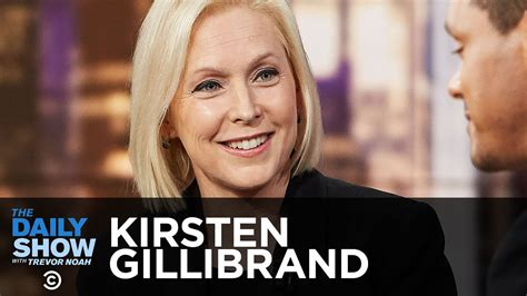 kirsten gillibrand trevor noah kirsten gillibrand fighting for new yorkers
