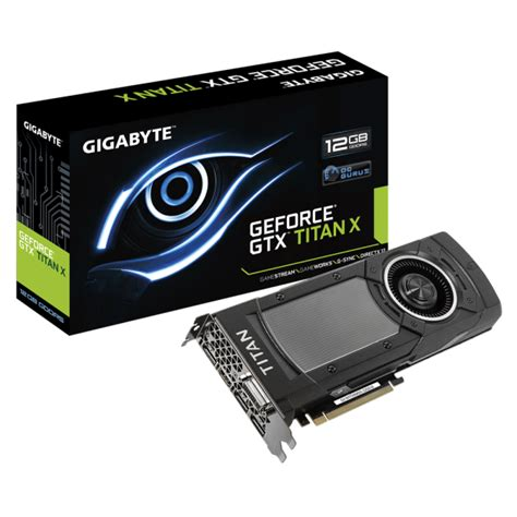 Vga Card Gtx Titan Gigabyte Geforce Gtx Titan X Graphics Card Launched