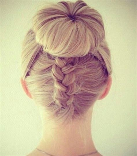 how to back your braids in doughnut bun by the sife 25 best ideas about donut bun hairstyles on pinterest