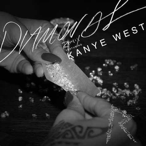 diamonds rihanna new music rihanna feat kanye west diamonds remix