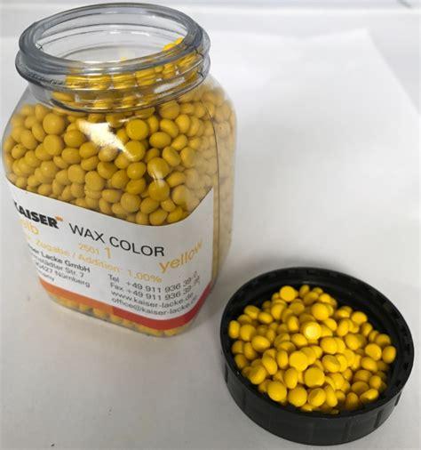 colori per candele colori per cera giallo 100gr