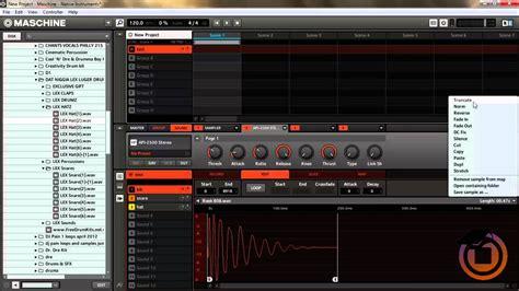tutorial native instruments maschine tutorial how to build drum kits in maschine mikro youtube